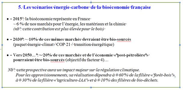 5 scénarios énergie carbone